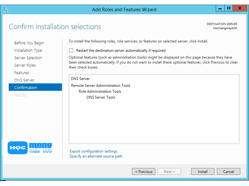 Cài đặt windows server 2012 r2