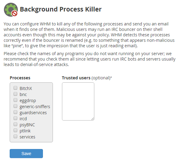 Background Process Killer
