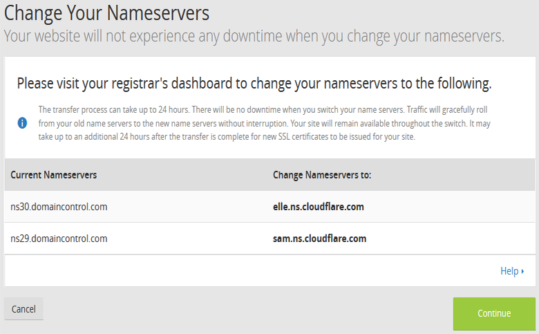 Doi Name server ve CloudFlare
