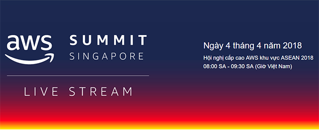 aws summit singapore 2018 live stream
