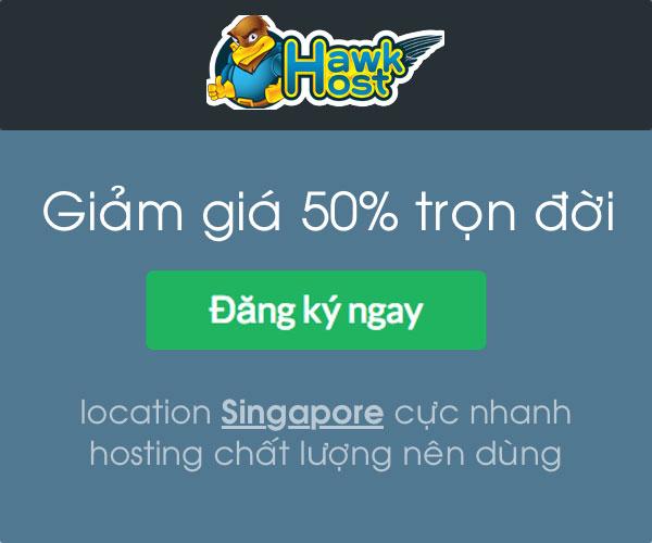 Mua Ngay HawkHost